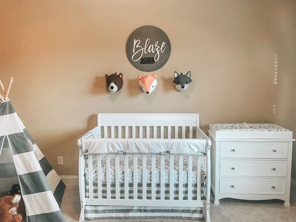 Woodland Nursery Ideas | Woodland Theme Baby Room